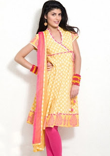 Cotton Anarkali Salwar Kameez