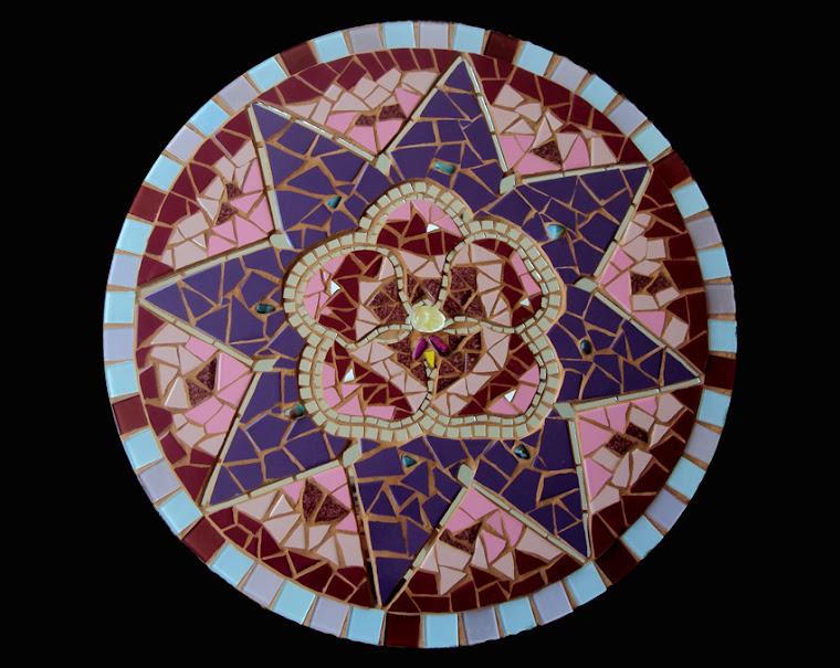 Mandala Lilás