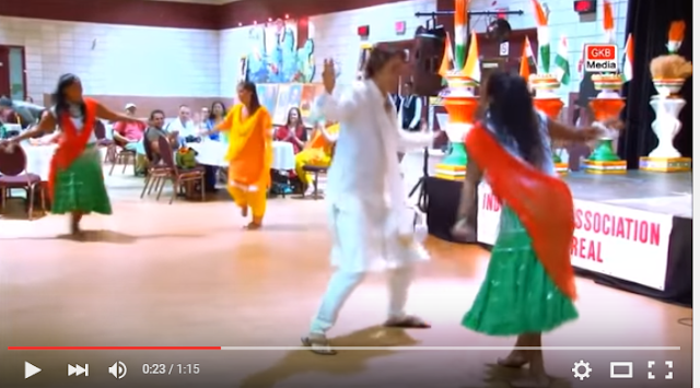 It shows him in traditional Indian dress matching Punjabi girls step-for-step and with impressive grace and energy.   The video was shot in 2012 when he was the Liberal Party's points person for issues pertaining to youth, multiculturalism, citizenship and immigration. Trudeau has been a keen supporter of minority rights and says that wearing the veil for religious reasons is a fundamental right for Canadians.