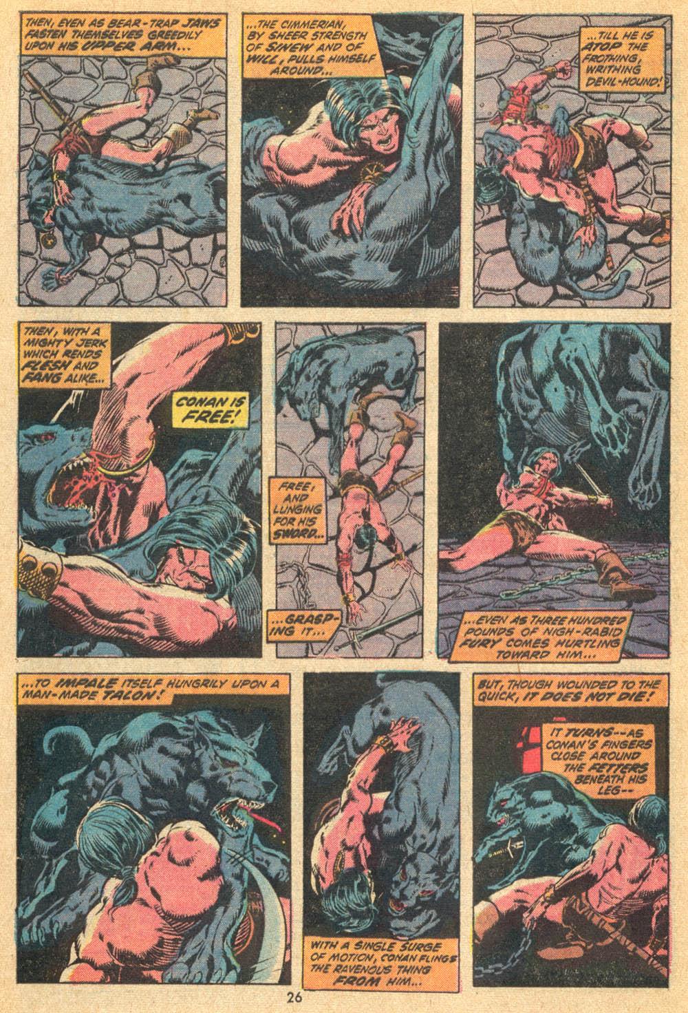 Conan the Barbarian (1970) Issue #20 #32 - English 17