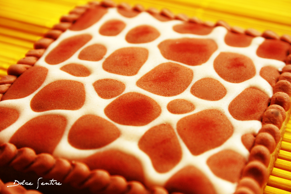 Galletas 'Animal Print' de jirafa {Video Tutorial}