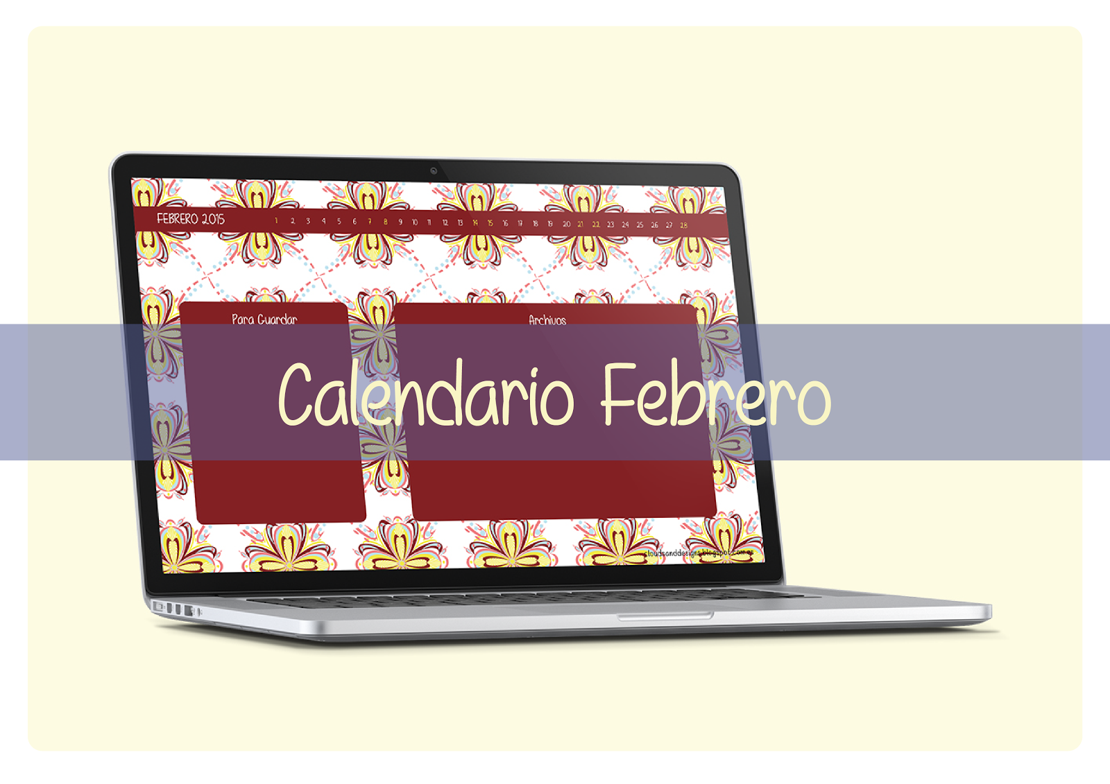Calendario-Febrero-Clouds
