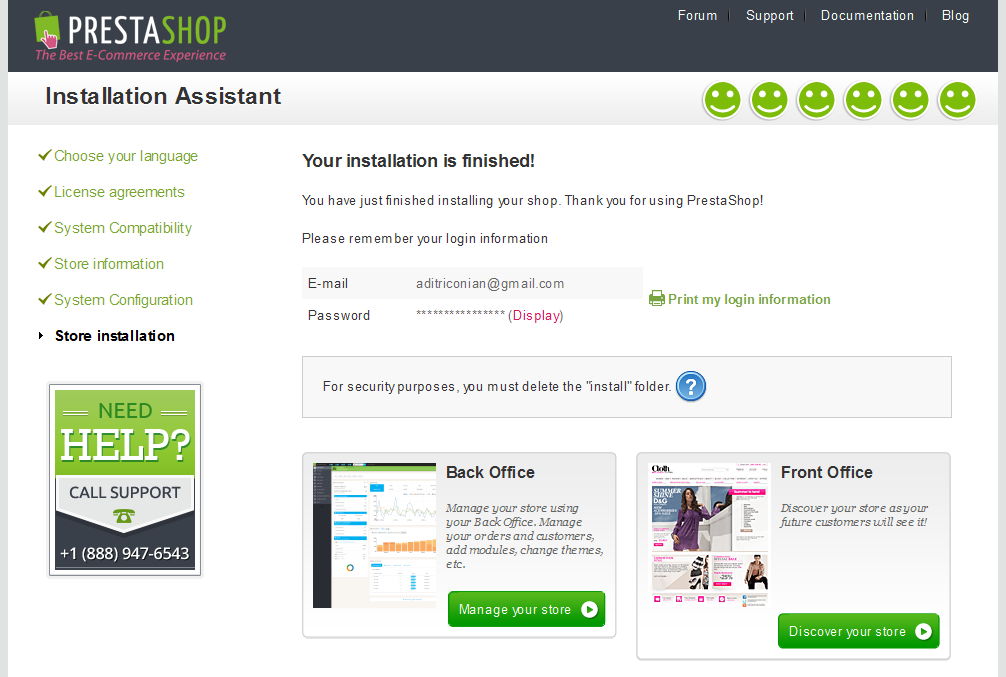 Cara Installasi Prestashop di Localhost Server Local