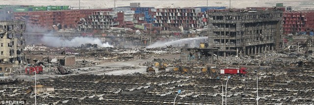 Confirmation Tianjin Was Nuked