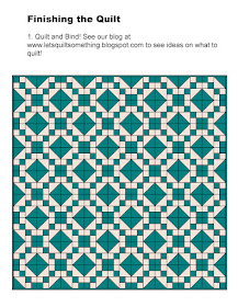 Lets Quilt Something Jacobs Ladder Free Quilt Pattern