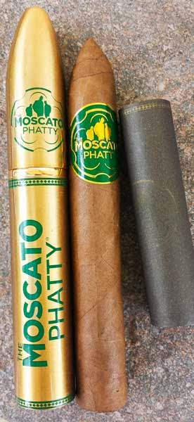 Moscato Phatty Natural Torpedo Tubo Cigar