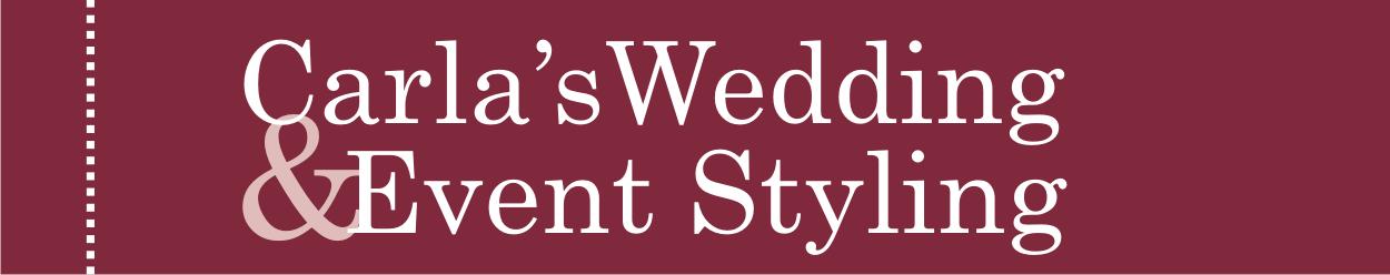 Carla's Wedding & Event Styling