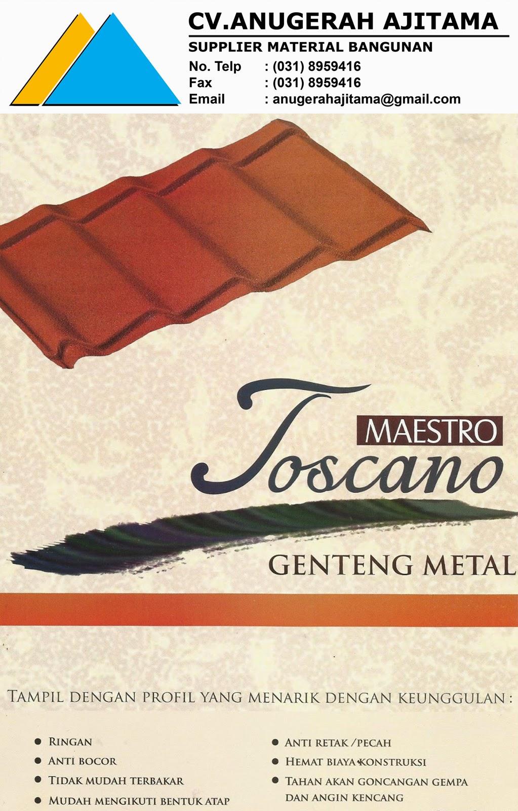 KATALOG GENTENG METAL MAESTRO TOSCANO