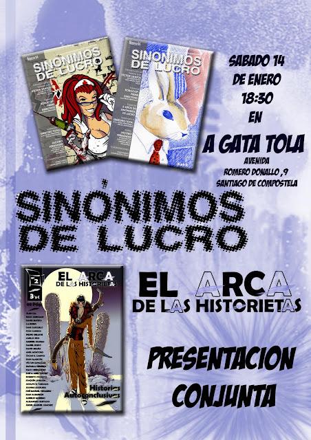 Armario Mdf Provençal ~ Planeta Inquietante Presentación conjunta del Arca de las Historietas y Sinónimos de Lucro