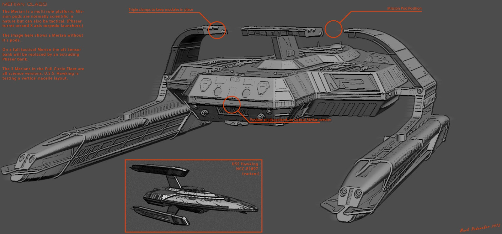 The Trek Collective: Latest Full Circle fleet images