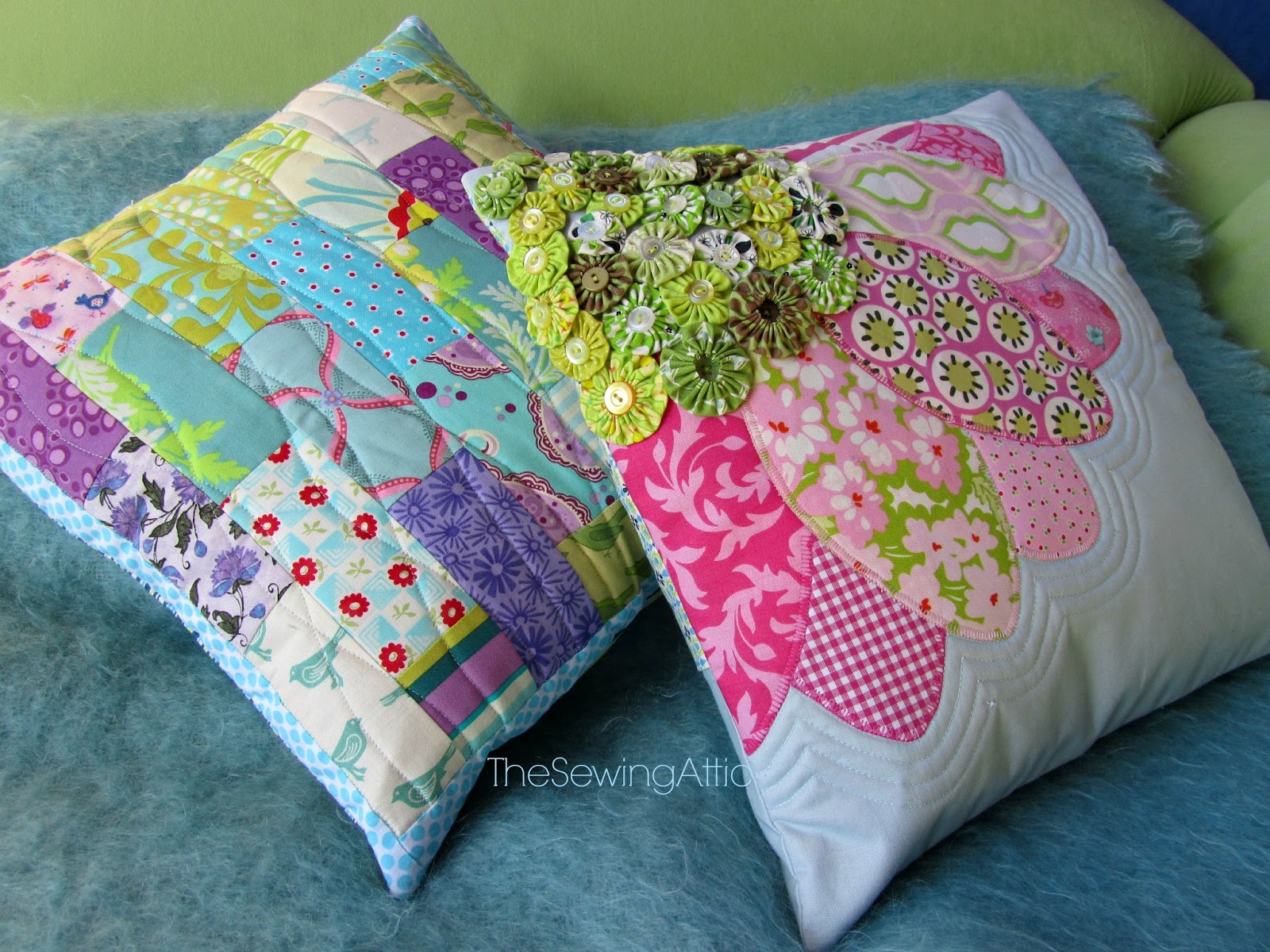 the sewing attic new cushion cover designs