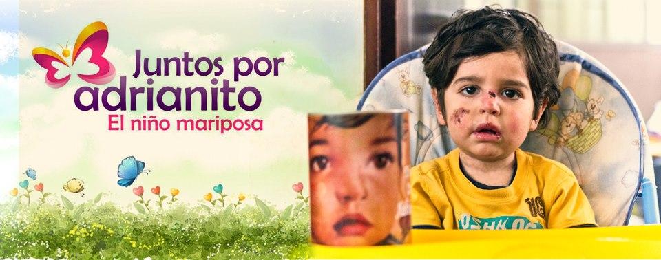JUNTOS POR ADRIANITO - EL NIÑO MARIPOSA - BLOG OFICIAL