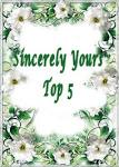 I Made Top 5 ~ February 2013