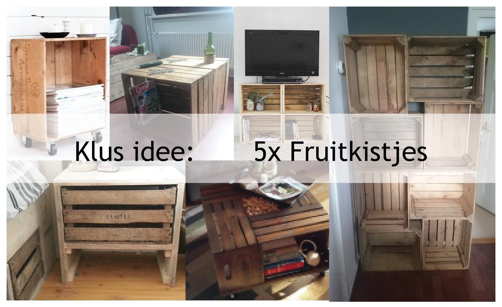 Judit's klusboek: inspiratie: 5x fruitkistjes