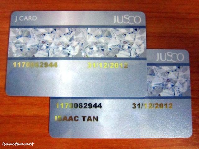 Jaya Jusco Card