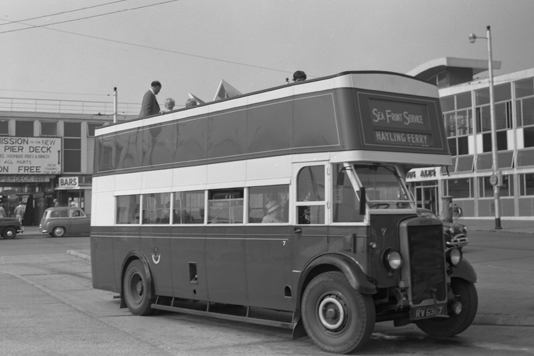 Open Topped Bus