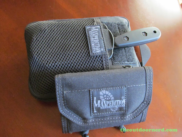 Maxpedition EDC Pocket Organizer - Shown With Maxpedition CMC Wallet