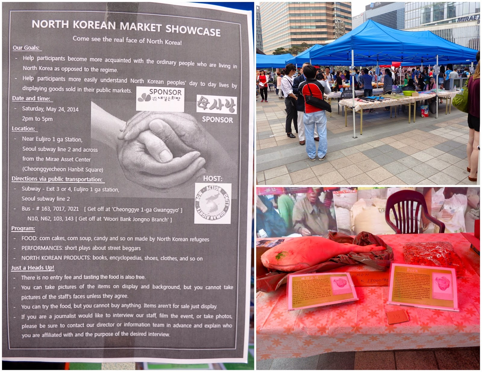 North Korean Market Showcase