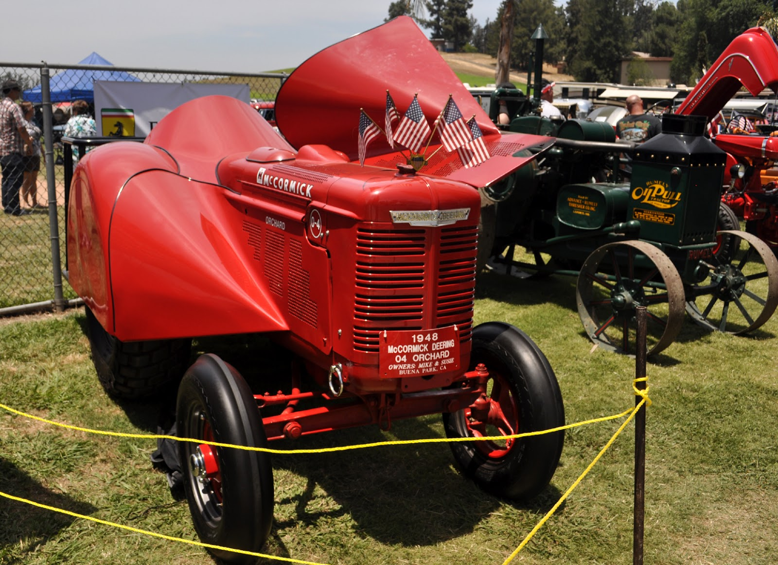 just a car guy far from the utilitarian work tractor this 1948