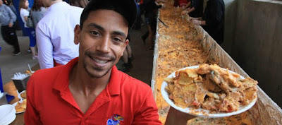 World's largest nacho plate photo,  largest nacho plate Guinness World Records, Kansas Relays guinness records, nacho plate world record 2012, KU Relays Breaks World Record, largest nacho plate picture, images of largest nacho plate