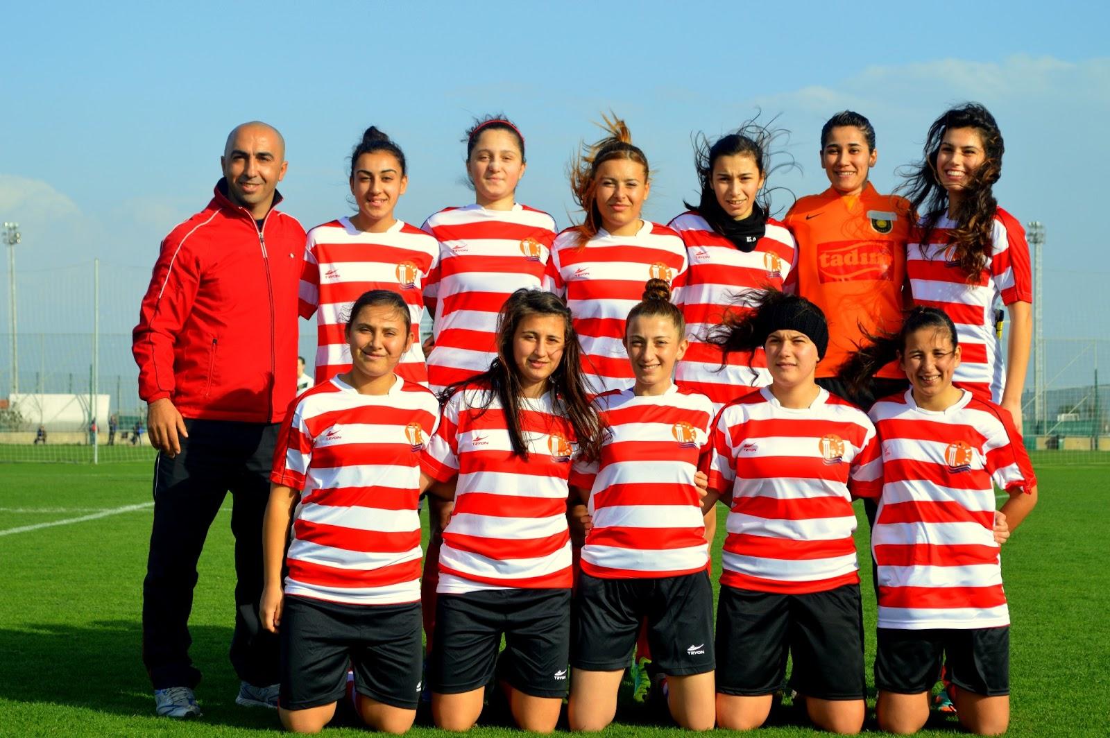Antalya U0026 39 S Pride 1207 AntalyaSpor Women U0026 39 S Football Team