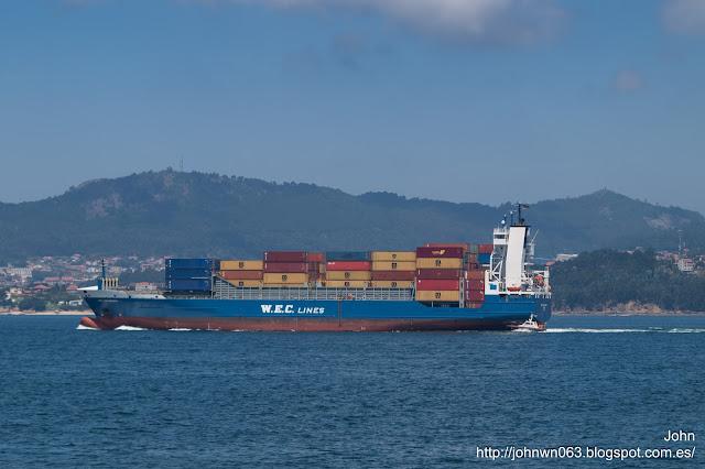 wec velazquez, container ship, portacontenedores, guixar