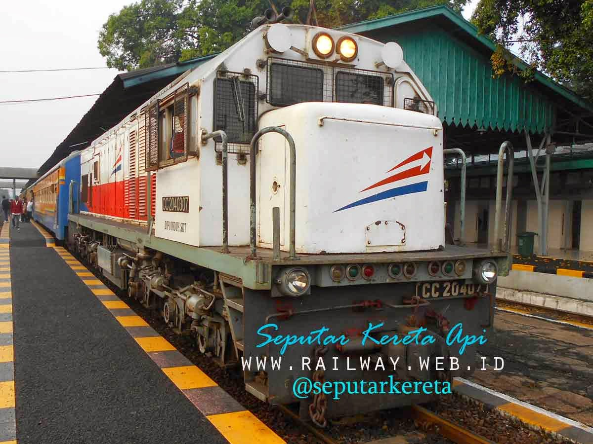Daftar Lokomotif CC204 Yang Dimutasi Ke Sumatera