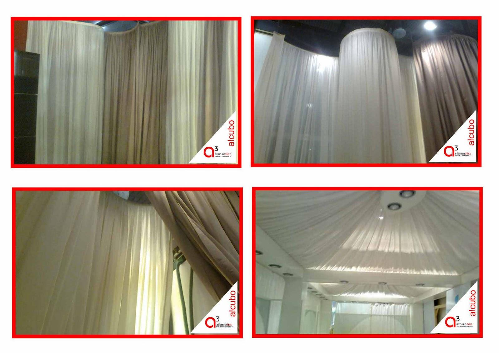 decoracin de telas para techos