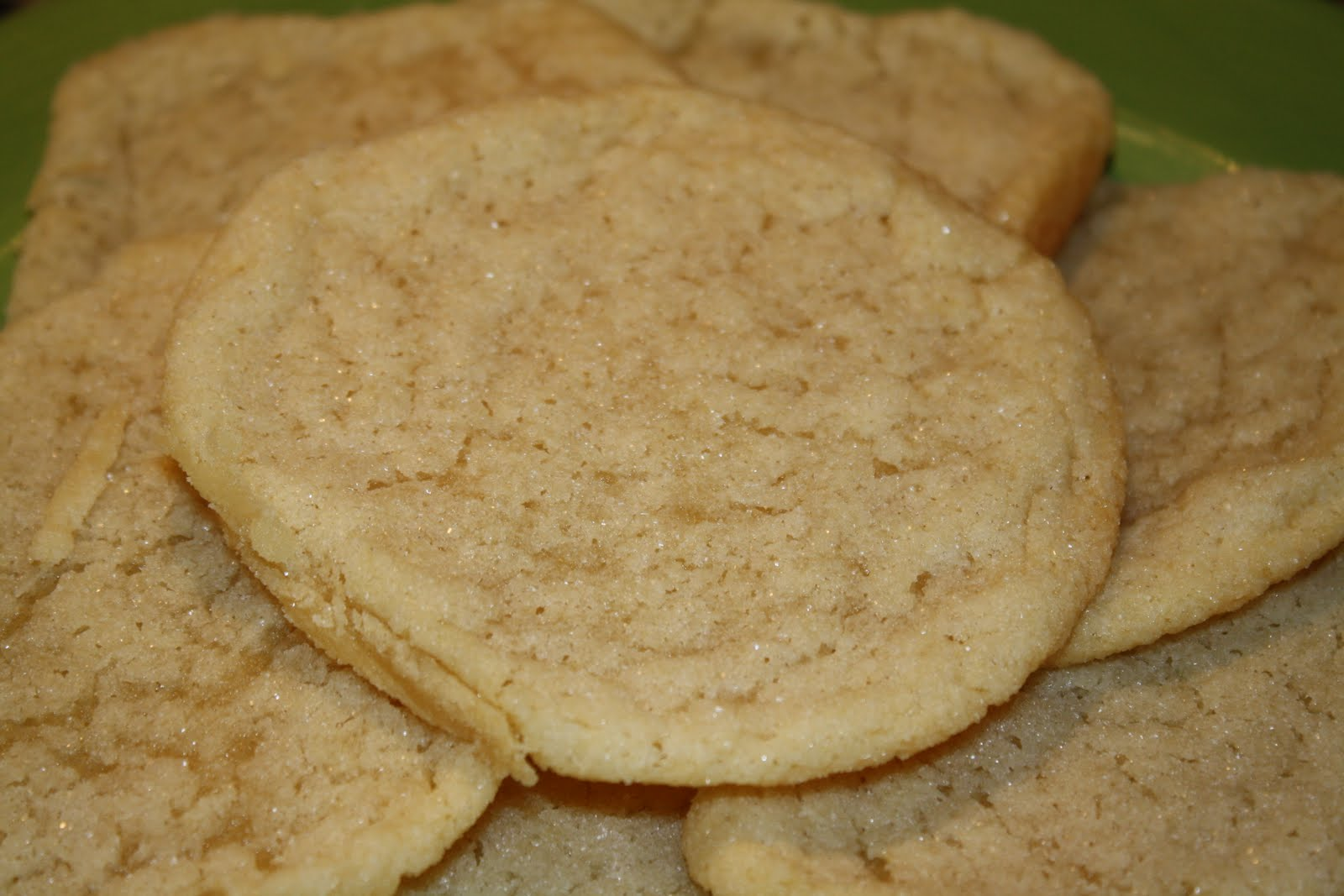 Seasoned with Love: Chewy Sugar Cookies