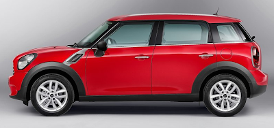 2013 Mini Countryman red