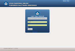 login ujian nasional (UN) 2015