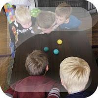 Juegos con la pelota de ping pong