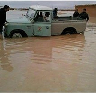 Le CRS appelle les pays donateurs à fournir une aide urgente aux réfugiés sahraouis à la suite des fortes pluies