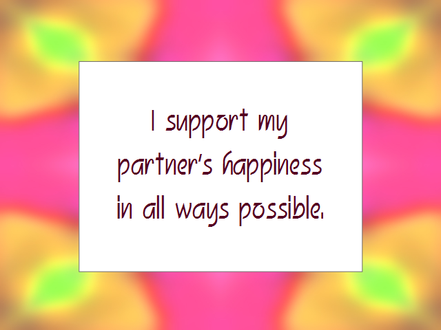 MARRIAGE affirmation
