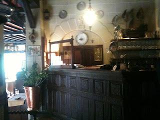 レストランのカウンター