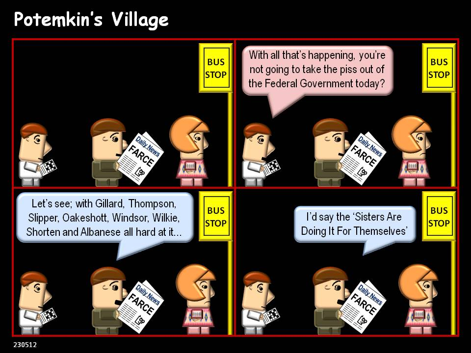 Potemkin 39 s village farce f rs noun a comic dramatic for Farcical noun