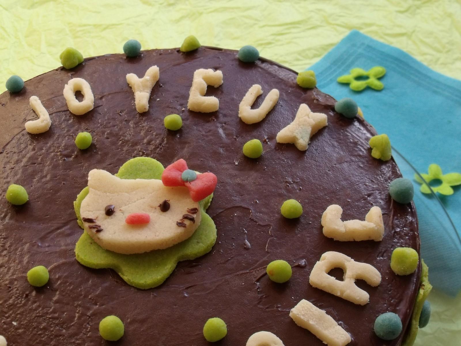 Experiences Gourmandes Gateau D Anniversaire Au Chocolat Decors