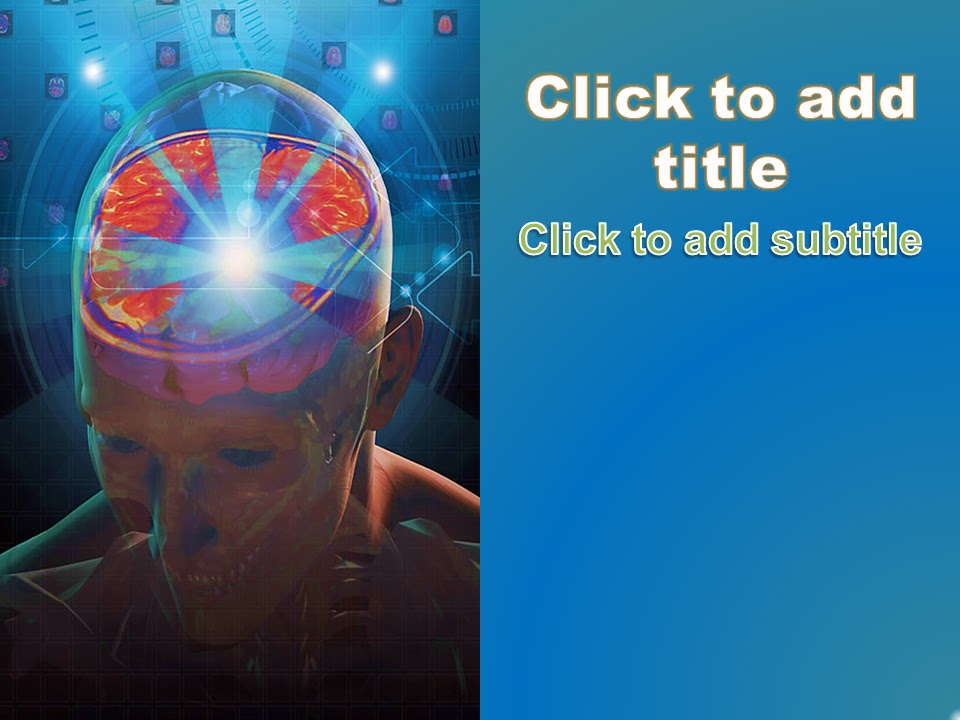 neurology powerpoint background - free download ~ free medical, Powerpoint templates