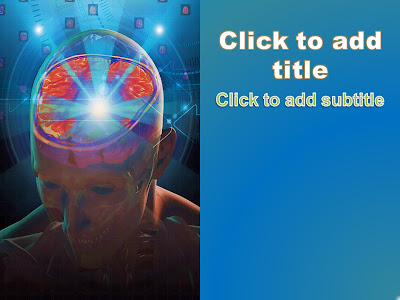 June 2013 free medical powerpoint templates medical ebooks this is a medical powerpoint template that will suit all neurology powerpoint presentations it has an image of the cross section of the human brain toneelgroepblik Image collections