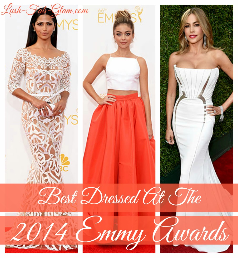 See the fabulous and oh so sexy designer gowns on the 2014 Emmy Awards Red Carpet!