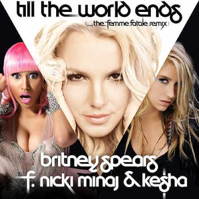 britney spears till world ends cover. The cover art boasting an