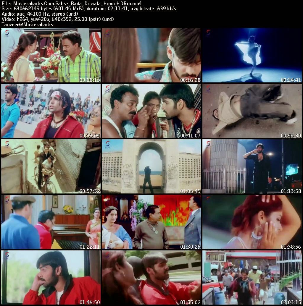 Screenshot of Sabse Bada Dilwala (2015) Hindi Dubbed HDRip