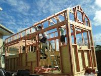 Construcción mini-casa