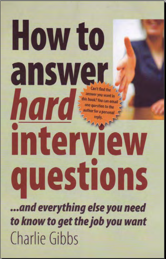 charlie gibbs-how to answer hard interview questions