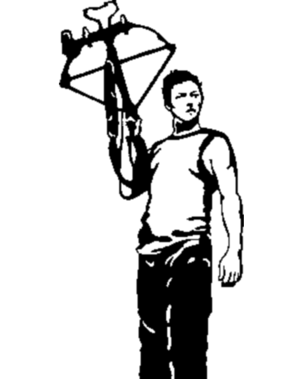 daryl dixon coloring pages - photo#35