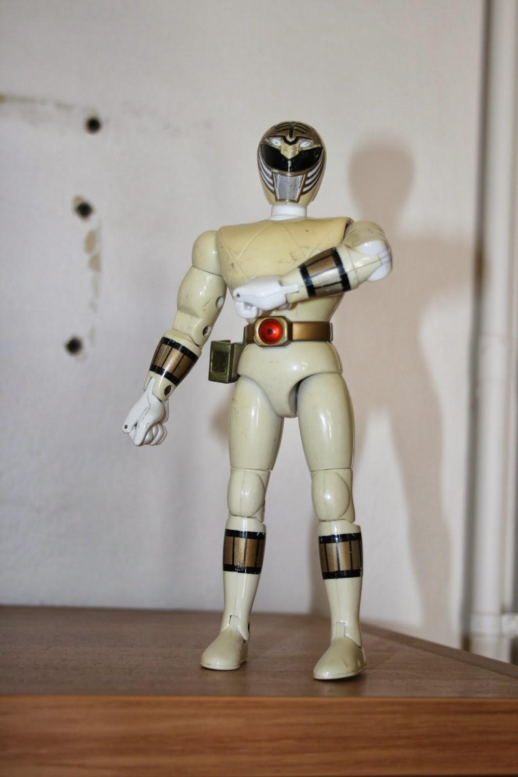 white power ranger 90s toy