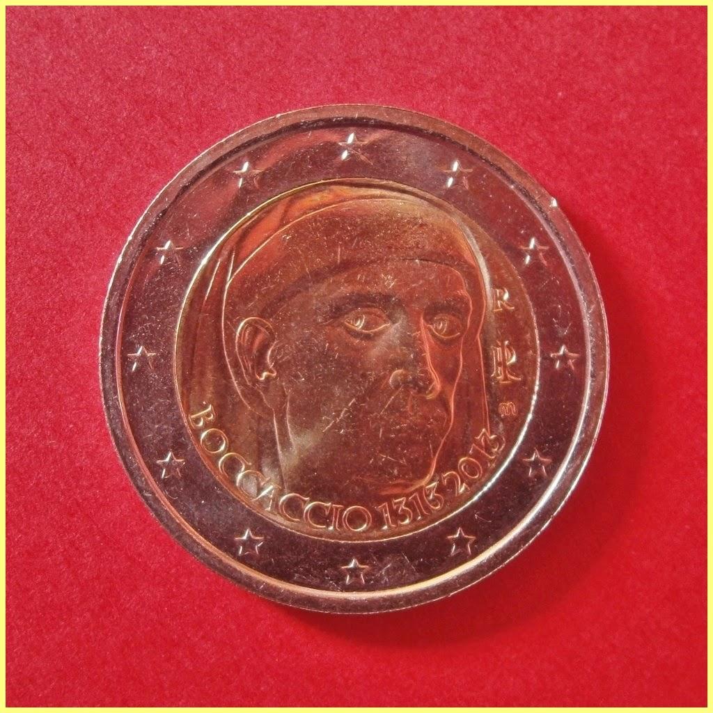 2 Euros Italia 2013 Boccaccio