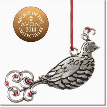 Pewter Ornaments|Avon Christmas Ornaments|Avon Collectibles