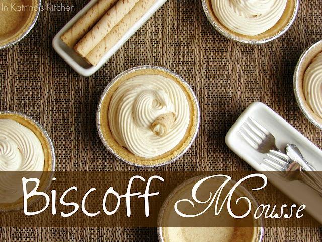 Biscoff Mousse from @katrinaskitchen (peanut butter can be substituted)