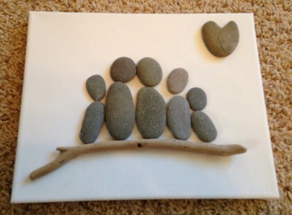 Cuadros con Piedras, Decoracion Natural